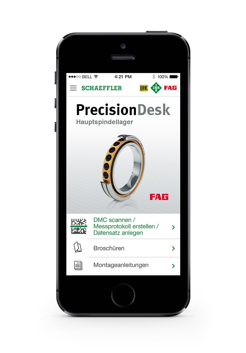 Aplikace PrecisionDesk