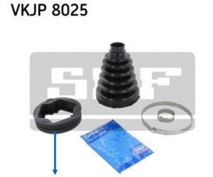 Produktová Informace SKF o obsahu sady a tvaru manžety VKPJ 8025