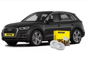 Brzdové kotouče od Textaru pro nové Audi Q5