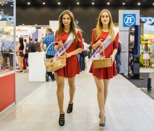 Hostesky na výstavě ProfiAuto Show 2017