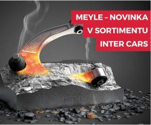 Náhradní díly značky MEYLE nově v sortimentu Inter Cars