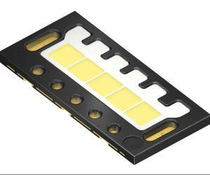První LED s pěti samostatně ovladatelnými čipy