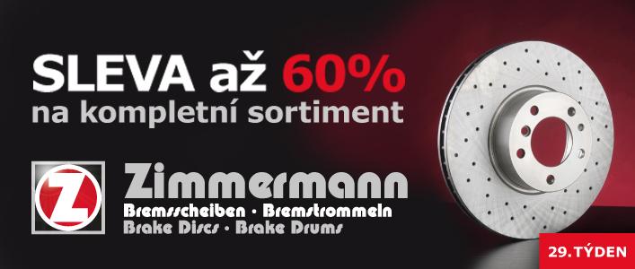 sleva až 60 % na kompletní sortiment Zimmermann