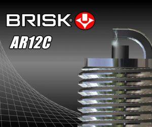 Nová zapalovací svíčka BRISK AR12C