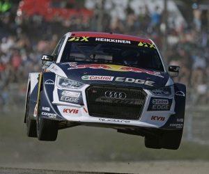 KYB sponzoruje tým EKS na FIA World Rallycross