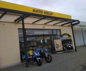 Omezení provozu prodejny Auto Kelly ve Znojmě