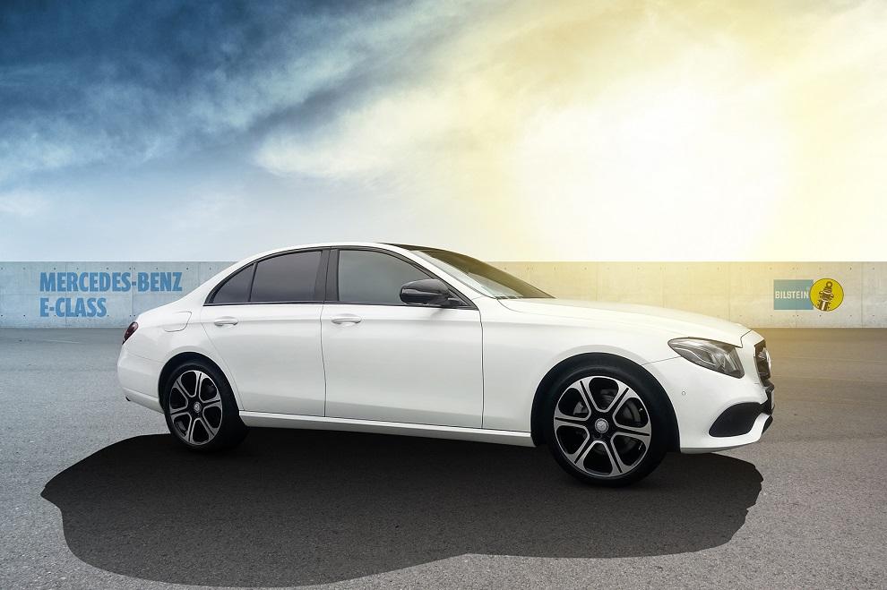 Mercedes třídy E s tlumiči Bilstein