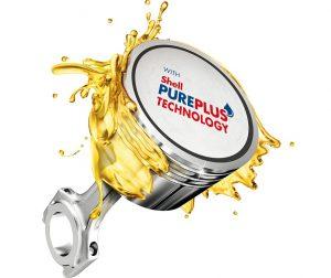 SHELL je jediný na světě, který vyrábí motorové oleje ze zemního plynu