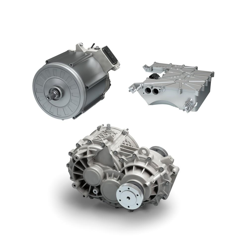 Bosch zkombinoval tři komponenty pohonu do jednoho