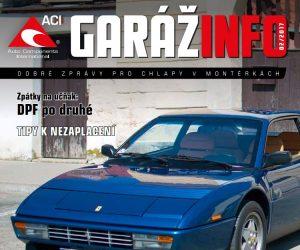 Automagazín Garáž Info 02/2017 od společnosti ACI