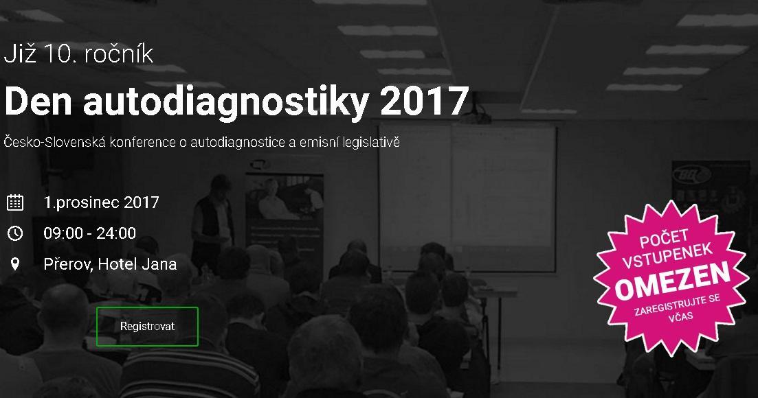 Den autodiagnostiky 2017