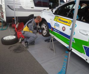 Q-SERVICE na Barum Rally Zlín