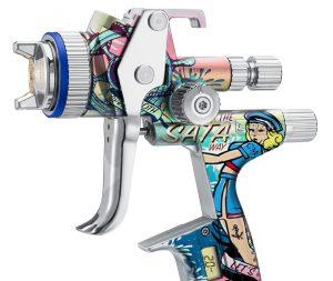 Limitovaná edice stříkací pistole SATAjet 5000 B Sailor