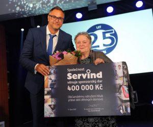 Servind slaví 25 let na českém trhu