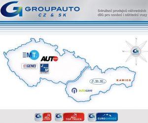 Společnost J+M autodíly členem skupiny GROUPAUTO INTERNATIONAL