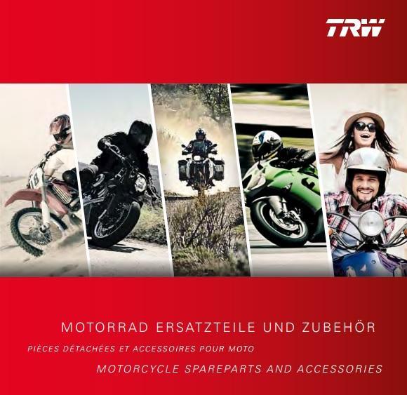 Katalog moto TRW 2017