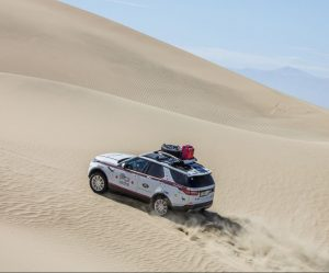 Goodyear prochází náročným testem na Land Rover Experience Tour Peru