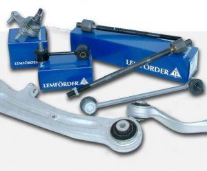 Rozšíření nabídky dílů řízení a zavěšení LEMFÖRDER u Stahlgruberu