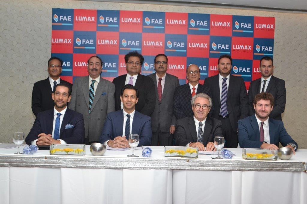 Dohoda o spolupráci mezi společnostmi FAE a Lumax
