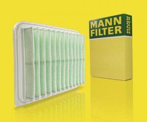 MANN-FILTER představuje inovační filtrační médium z recyklovaných vláken