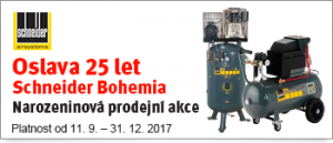 Akce Trost na Schneider Bohemia