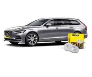 Brzdové kotouče Textar pro nový Volvo V90 II