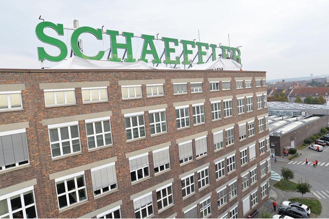 Továrna Schaeffler v Schweinfurtu