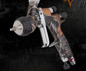 Nová designová pistole společnosti DeVilbiss