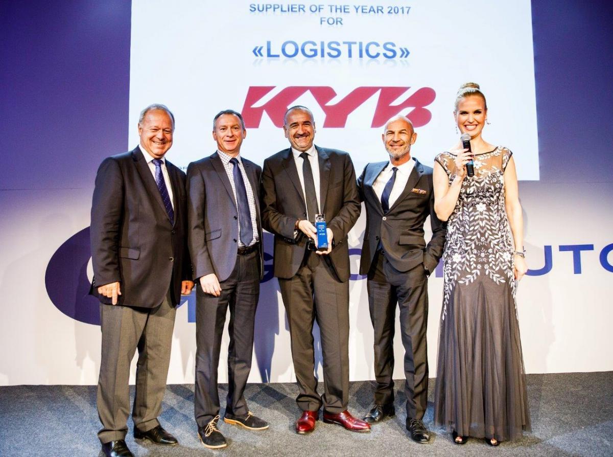KYB obdržela od GROUPAUTO International ocenění
