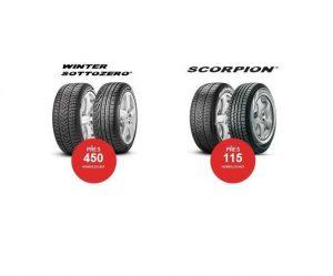 Portfolio zimních pneumatik Pirelli
