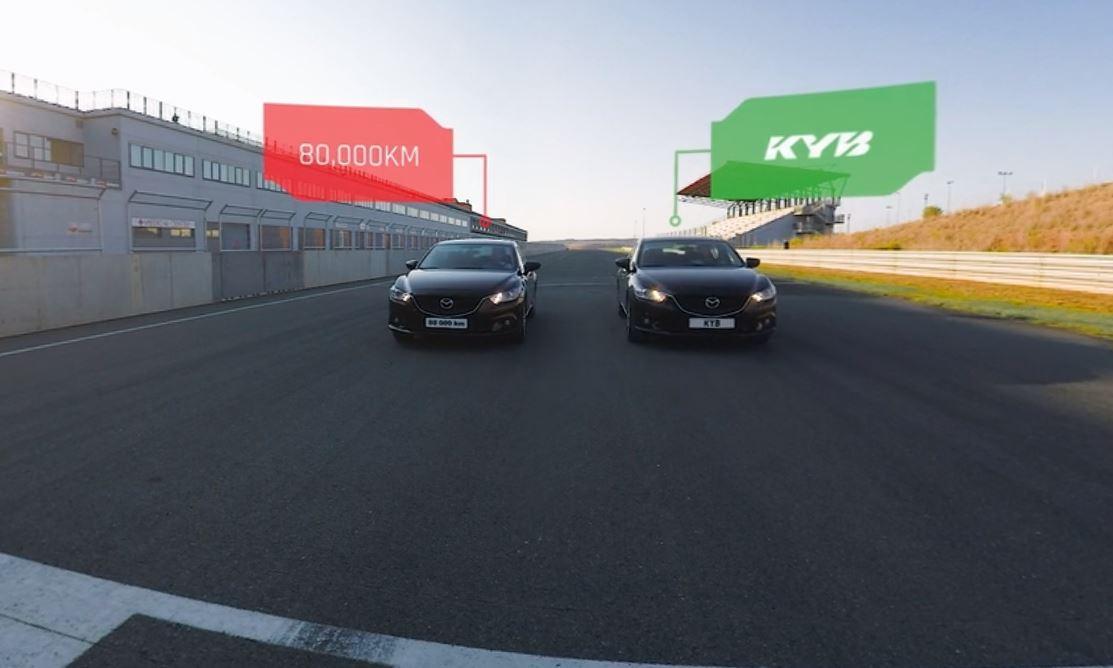 KYB představuje nové virtuální video bezpečné jízdy