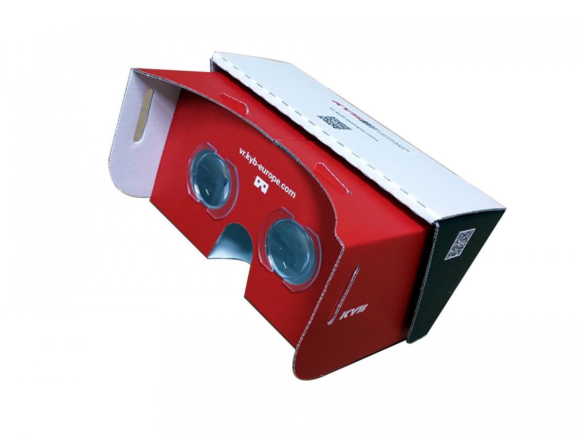 KYB představuje nové virtuální video bezpečné jízdy - 3D brýle