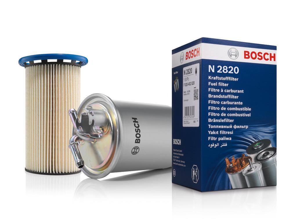 Ukázka filtrů Bosch