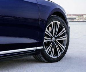 Nové Audi A8 bude jezdit na originálních pneumatikách Goodyear