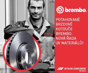 Rozšířená nabídka brzdových kotoučů BREMBO UV COATED