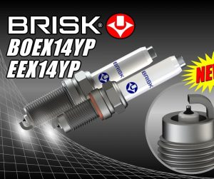 Nové zapalovací svíčky BRISK pro motory TSI/TFSI