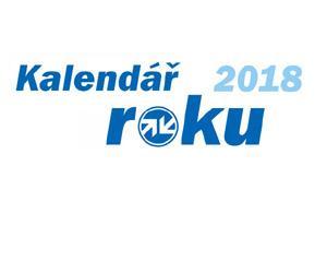 Kalendář roku 2018 je od firmy Auto Kelly