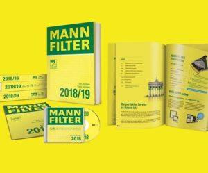Nový katalog MANN-FILTER 2018-2019