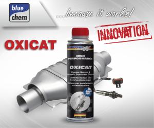 Mějte emise pod kontrolou! OXICAT - čistič pro celý výfukový systém