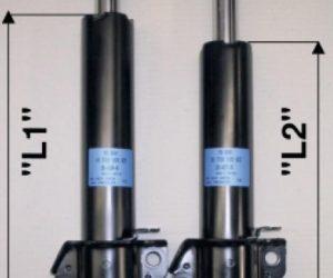 Správná identifikace předních tlumičů pro MB-Sprinter / VW-LT