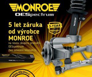 Celý sortiment MONROE nyní u firmy Szakal Metal