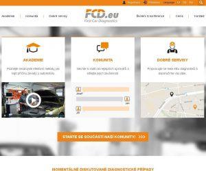 Nový vzhled stránek FCD.eu