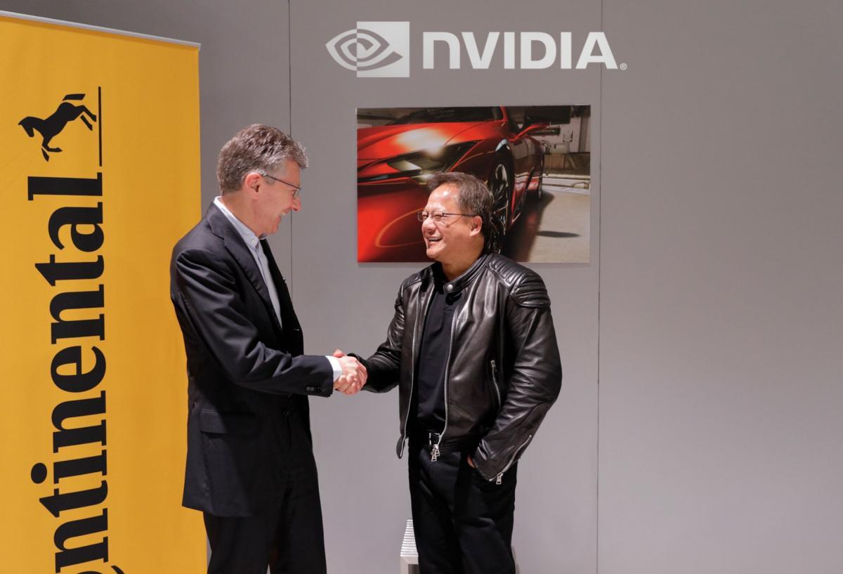 Continental a NVIDIA jako partneři umožní celosvětovou výrobu umělé inteligence pro samojízdné automobily