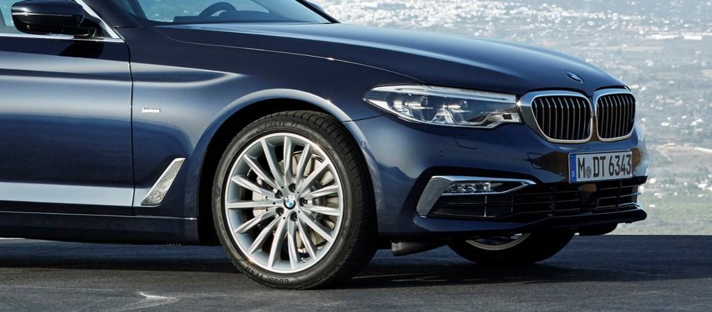 Pneumatiky Goodyear a Dunlop jako originální výbava BMW řady 5