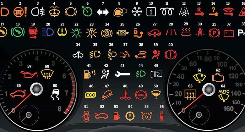 Kontrolky v autě řidiči neznají