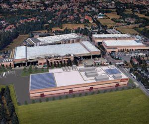 Nová továrna Brembo na uhlíková vlákna