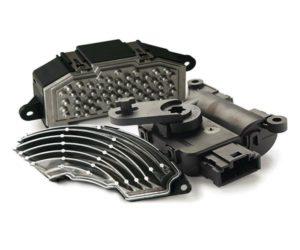 Odpory a krokové motorky od firmy DENSO