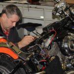 Diagnostika elektrických systémů motocyklu