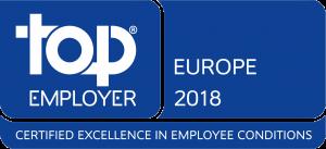 Valeo se již potřetí pyšní certifikátem Top Employer Europe