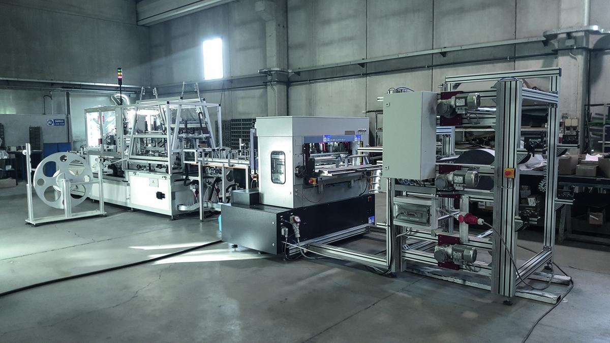 Nová automatizovaná linka na výrobu filtrů UFI